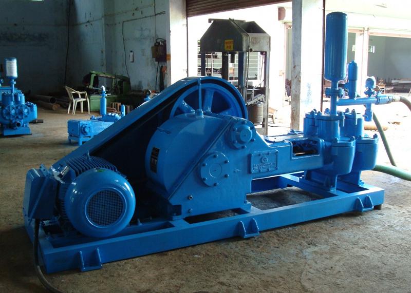 Skid Mounted Engine Driven Mud Pump | G & P Engineering Company